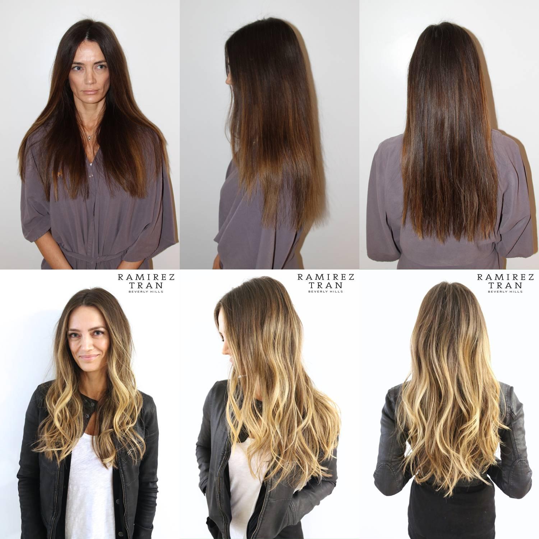 Омбре на русые волосы средней длины, длинных волосах: техника окрашивания, и лучшие идеи окрашивания на светлых волосах