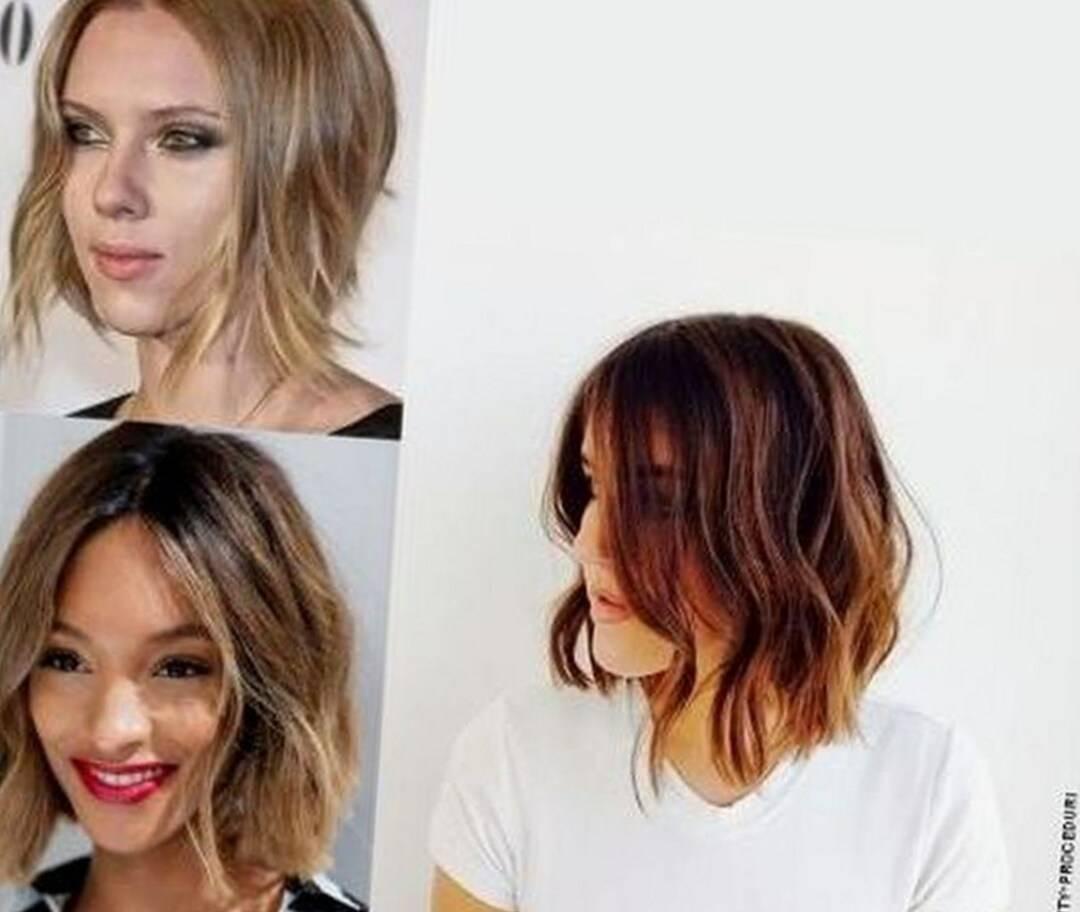 Женские стрижки на волосы до плеч с челкой и без - фото - уход за волосами