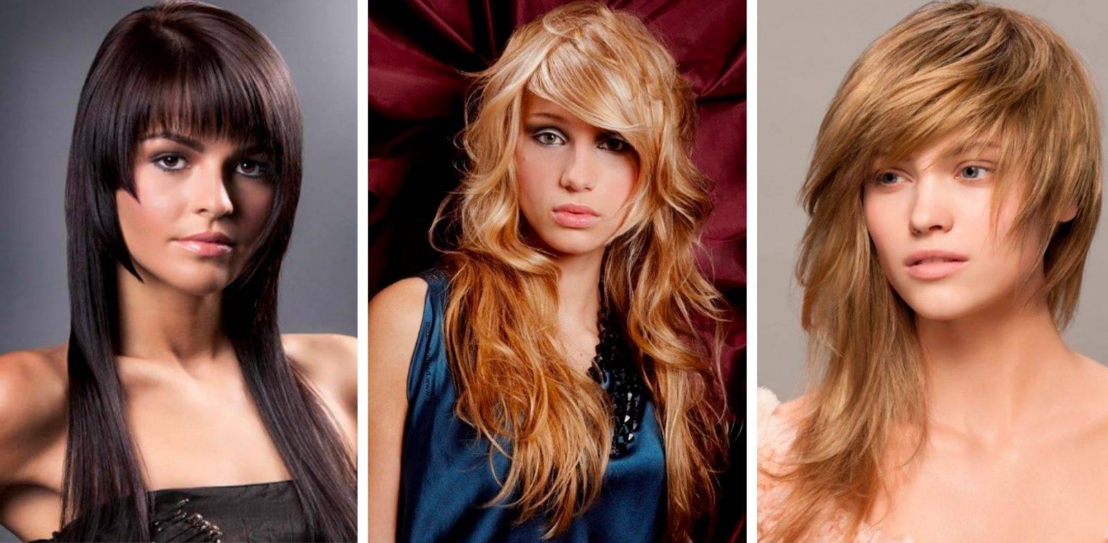 Стрижки с челкой на средние волосы: объемные, прямые, ассиметричные и каскадные