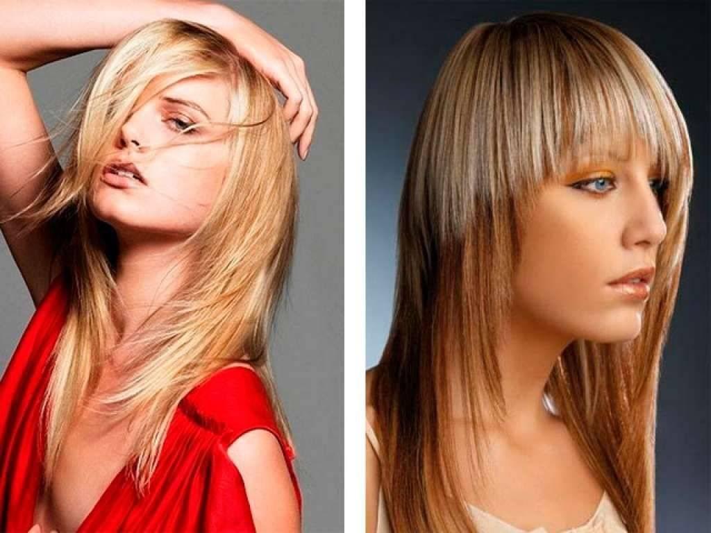 Каскад на длинные волосы: разновидности стрижки с челкой и без, вид сзади и спереди