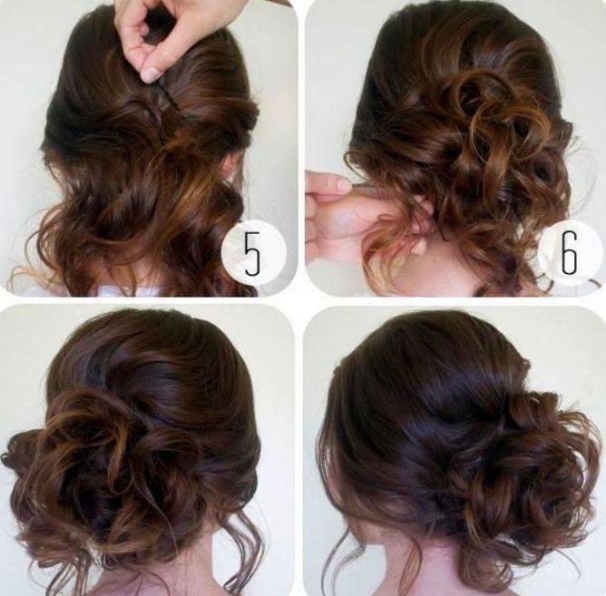 Прически с локонами для длинных волос