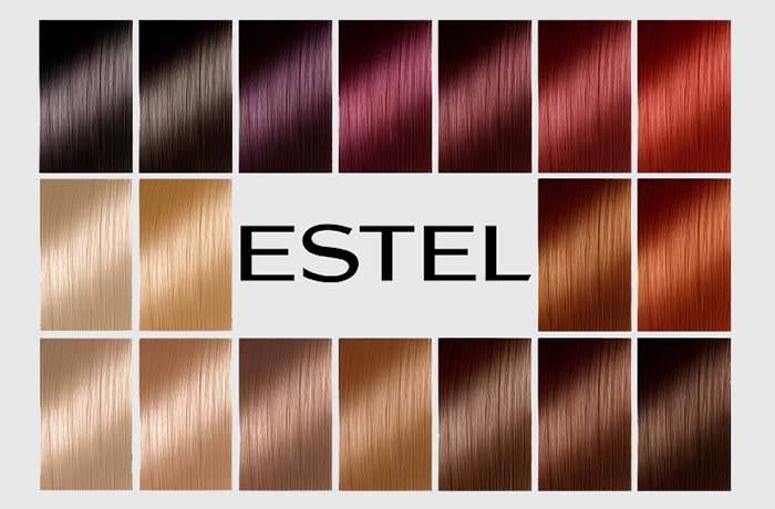 Как подобрать краску эстель из всего многообразия, цветовая палитра каждой серии