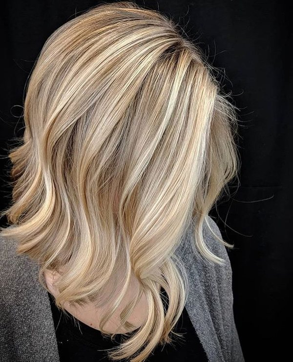 Мелированный блонд му эйвон