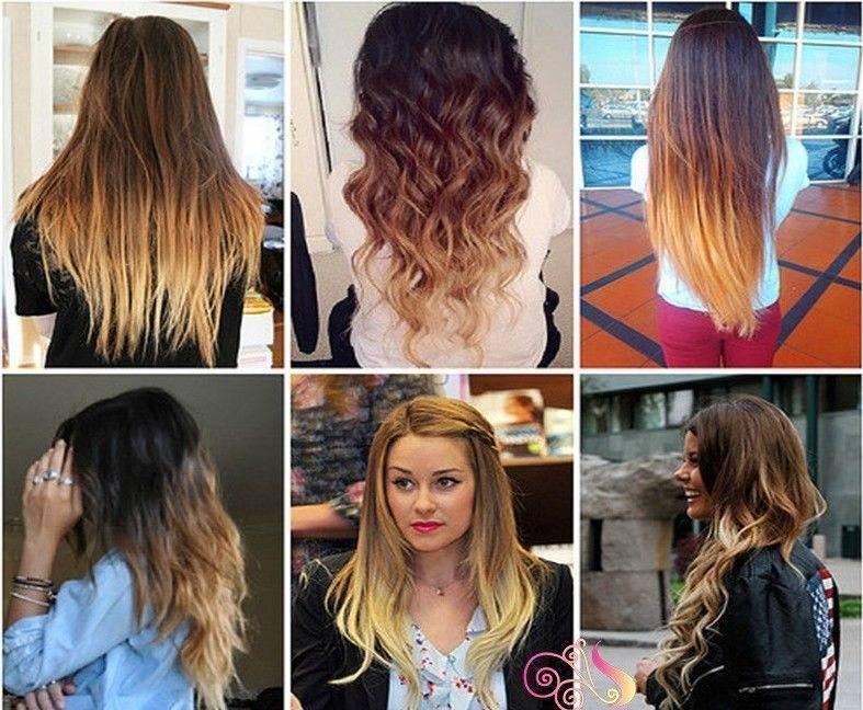 Как самой сделать омбре на средние волосы. сам себе парикмахер. как сделать омбре с контрастным переходом?