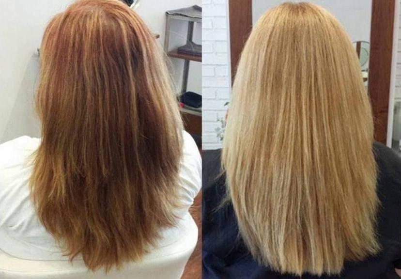 Советы, как быстро осветлить волосы в домашних условиях промышленными и народными средствами