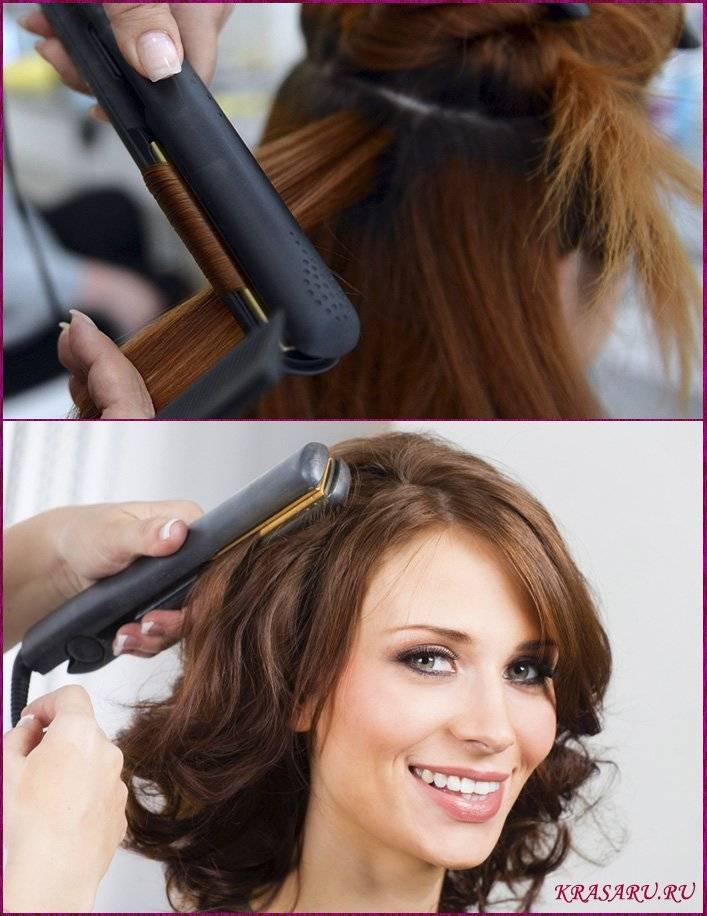 Как сделать модные локоны на средние волосы: средства и приспособления, фото укладок  — ruxa