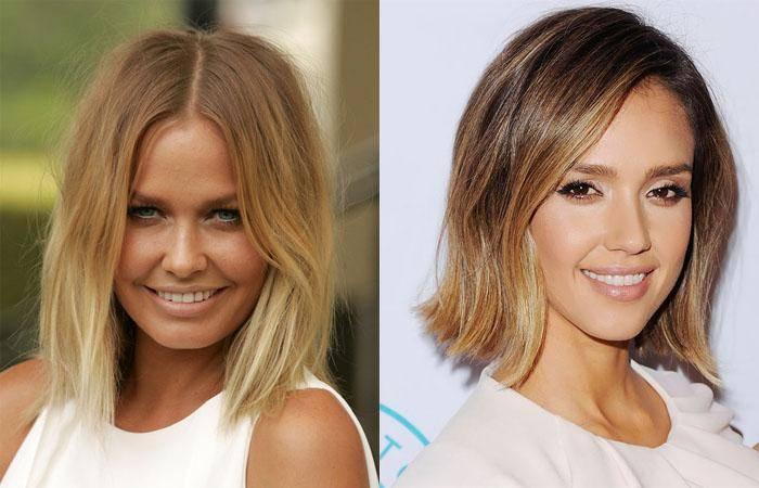 Окрашивание шатуш на темные волосы: фото до и после