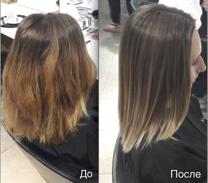 Как выглядит брондирование светлых волос: фото до и после и обучающие мастер-классы на видео
