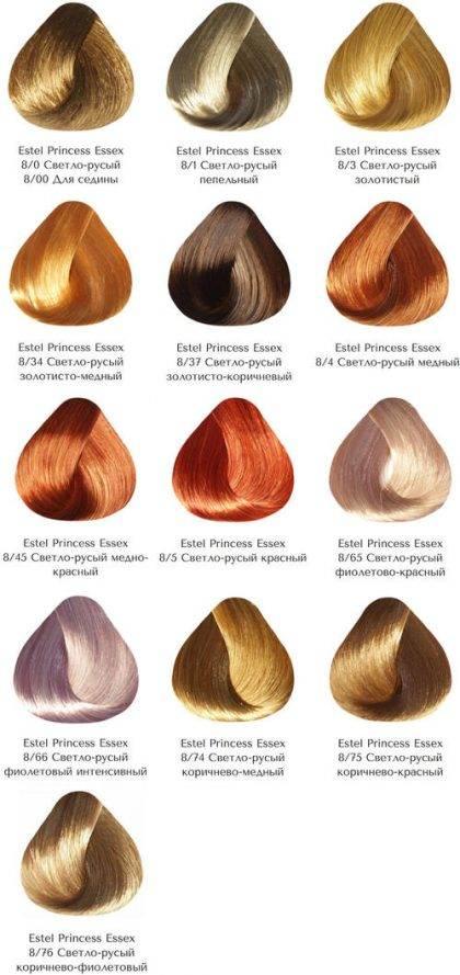 Разнообразие палитры краски эстель: какую можно применять в домашних условиях?