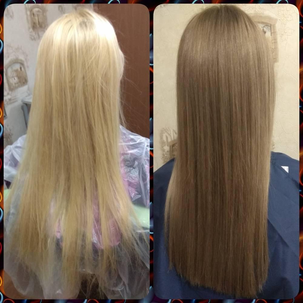 Как сделать тонирование волос для блондинок: фото до и после, правила и рекомендации