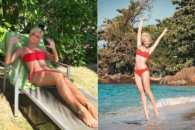 Как похудела певица полина гагарина. минус 40 кг за 6 месяцев! фото до и после