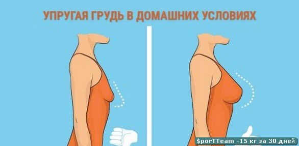 Как быстро, за неделю увеличить грудные железы в домашних условиях