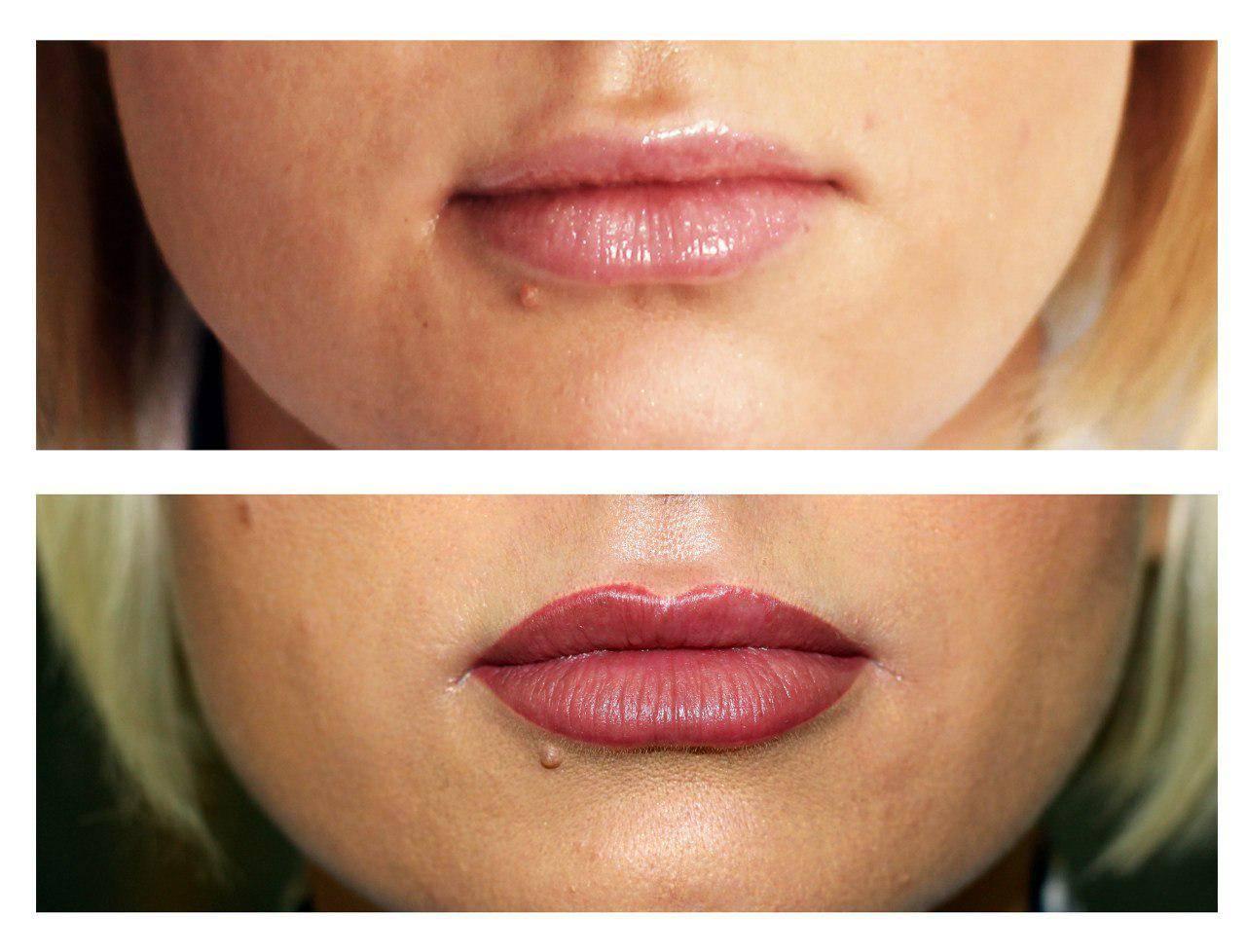 Татуаж губ: фото, до и после, акварельная техника, с растушевкой, цвета, техники, заживление, последствия