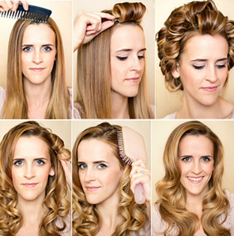 Как сделать красивые локоны на длинные волосы в домашних условиях