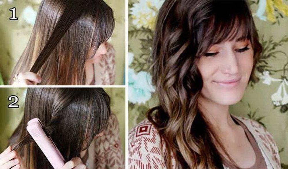 Локоны утюжком на короткие волосы (23 фото): как сделать волны и накрутить кудри в домашних условиях с помощью выпрямителя?