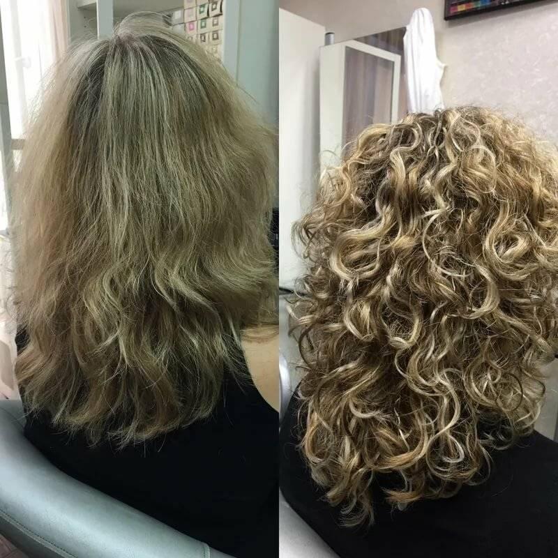 Стоит ли делать химическую завивку волос: плюсы и минусы процедуры
