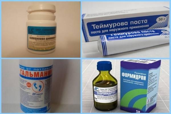 Средство от пота под мышками – перечень эффективных препаратов