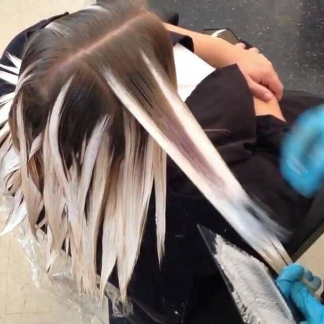 Покраска волос в стиле балаяж: фото, описание, техника выполнения