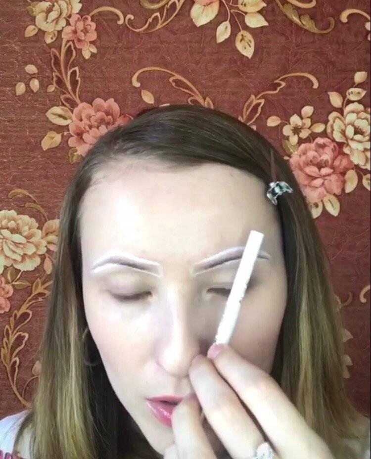 Как накрасить брови карандашом: поэтапная инструкция