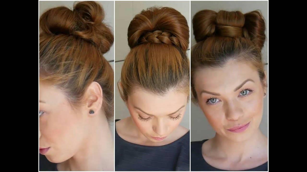 Как сделать пучок с помощью бублика: инструкция создания гульки из средних, коротких и длинных волос