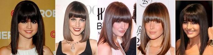 Модные стрижки на волосы средней длины: тренды, фото