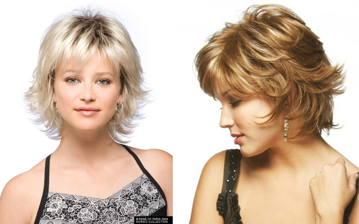 Стрижка каскад для круглого лица: с челкой и без, на средние и короткие волосы, фото