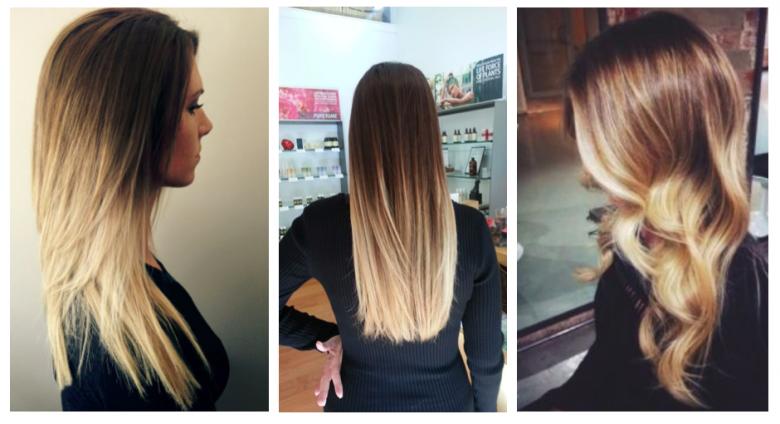Корни темные, концы светлые: техника окрашивания омбре. описание с фото, выбор краски для волос, особенности и нюансы ухода за волосами после окраски