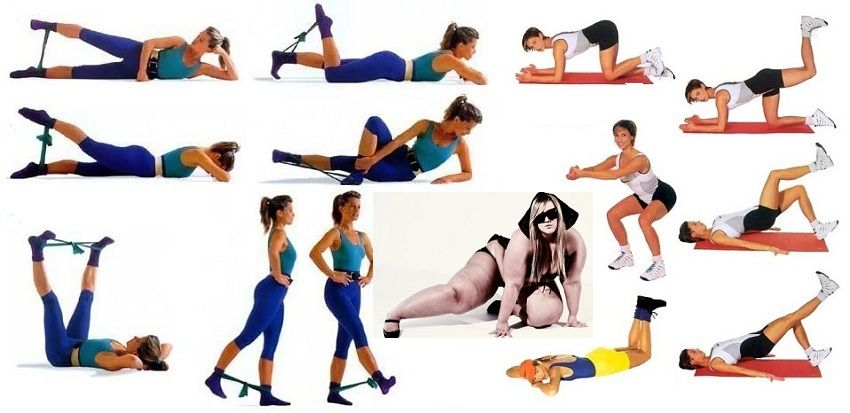 Как быстро и эффективно похудеть в ногах?