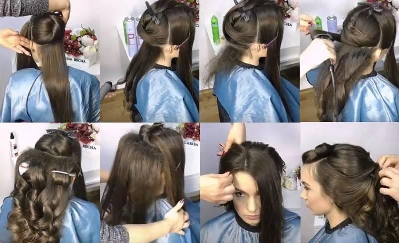 Локоны на длинные волосы: как сделать и продлить укладку?