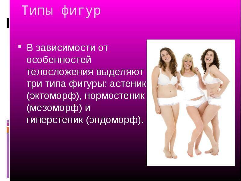 Астеническое телосложение у женщин и мужчин: характеристика
