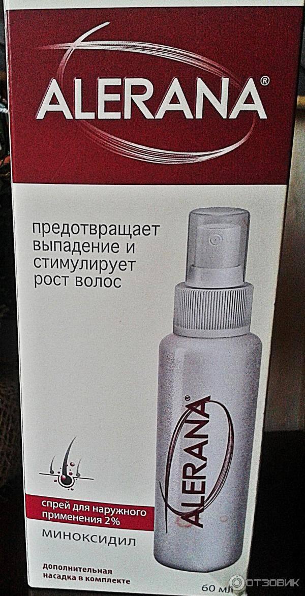 Купить спрей alerana 5% для наружного применения - описание, компоненты, отзывы