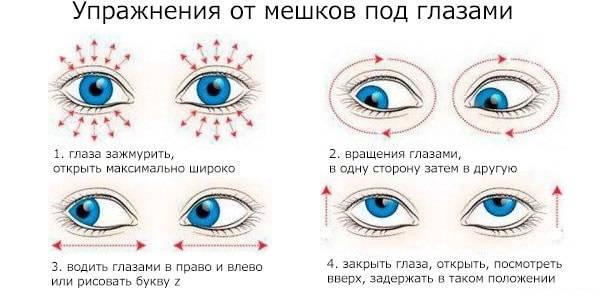 Упражнения от морщин вокруг глаз видео