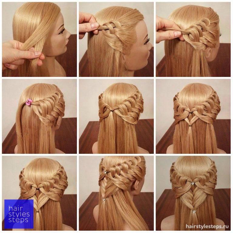 Как самой себе заплести косу