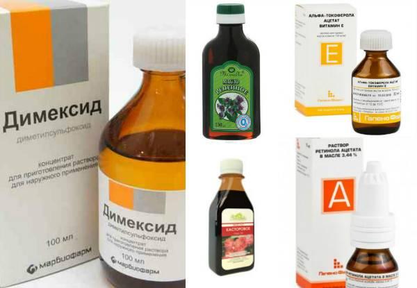 Лечебно-косметическая маска для волос с димексидом: лучшие рецепты
