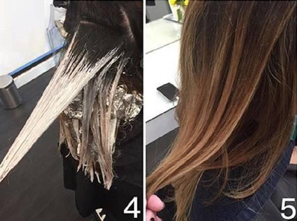 Окрашивание омбре на волосах: 49 фото + как сделать в домашних условиях