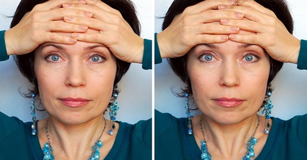 3 упражнения против отеков и мешков под глазами
