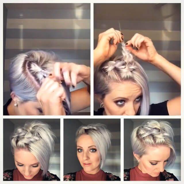 10 женских причёсок для коротких волос на каждый день - фото красивых причесок на короткие волосы