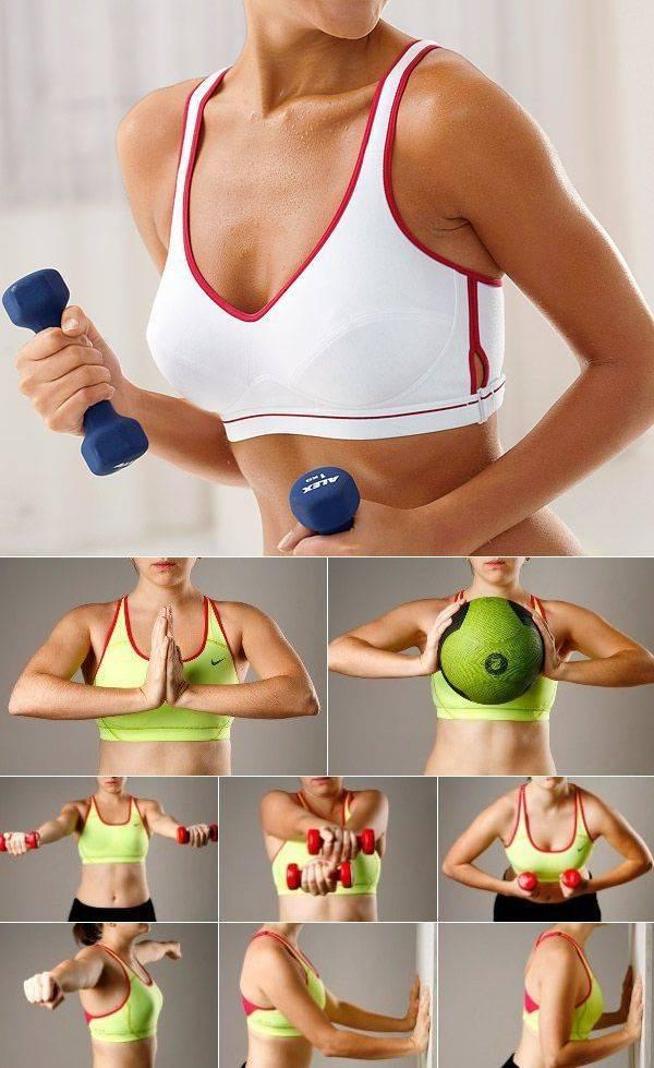 Как подтянуть грудь в домашних условиях девушке: можно ли поднять мышцы бюста дома и убрать обвисшую кожу без операции?