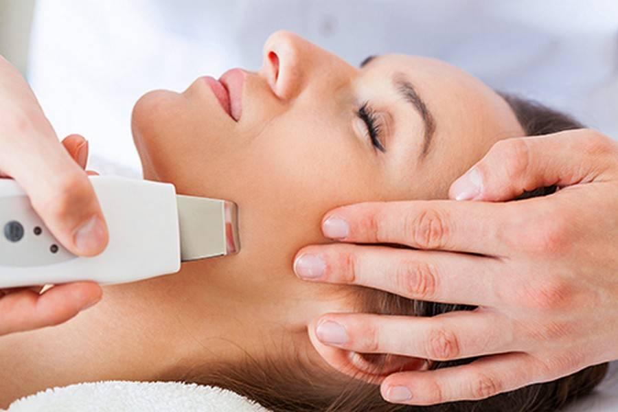 Проведение химической чистки (пилинга) для омоложения и улучшения состояния кожи