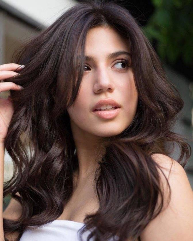 Hothair.ru - кому идет каштановый цвет волос? (фото)