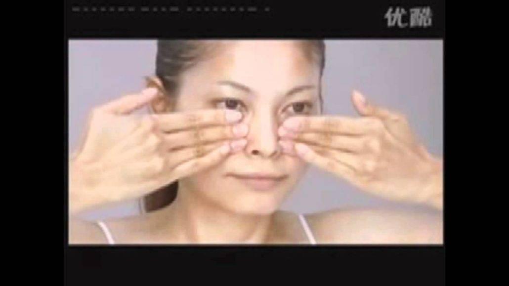 Массаж асахи для подтяжки кожи лица за 10 минут в день