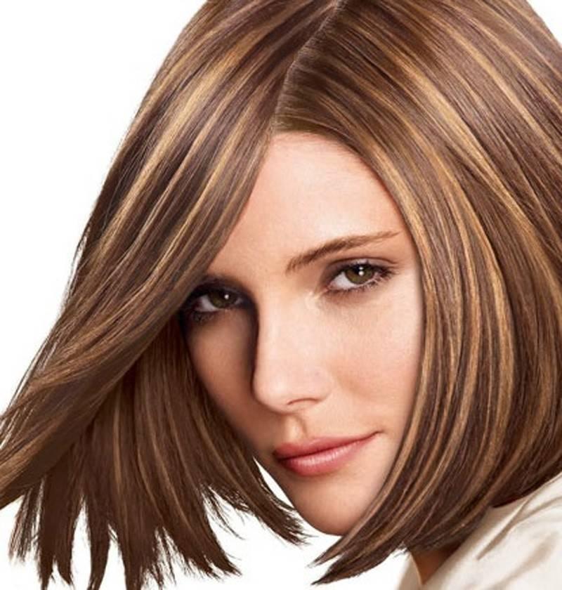 Модное окрашивание волос 2021 на средние волосы для брюнеток: фото, техника, тенденции