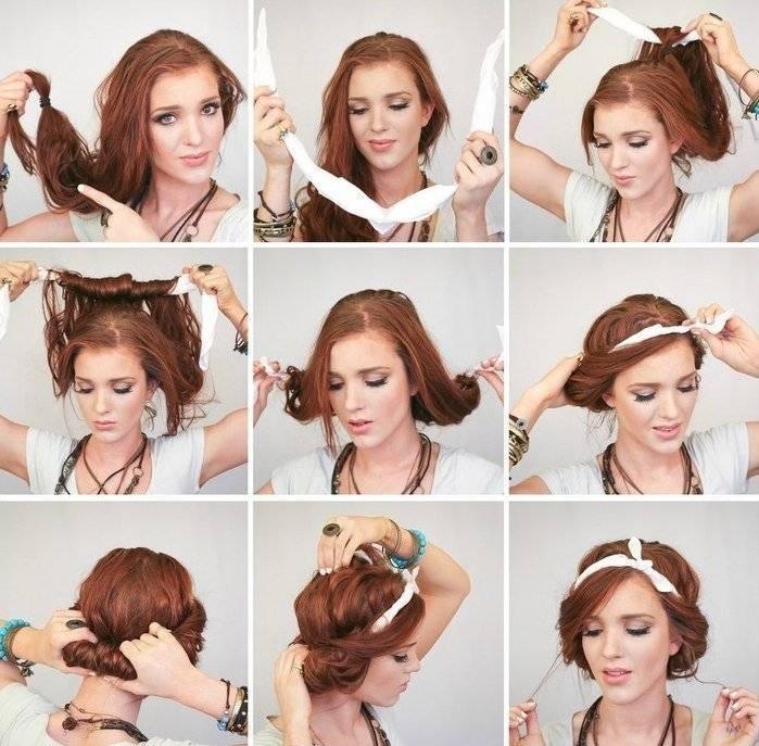 Греческая коса на средние волосы. фото, как сделать своими руками пошагово