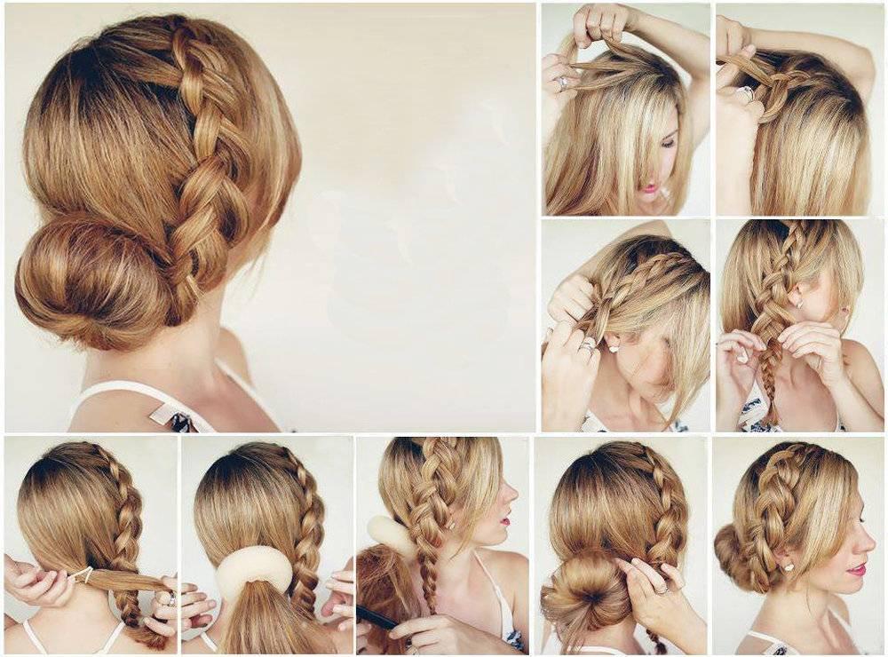33 красивые прически с косами на длинные волосы