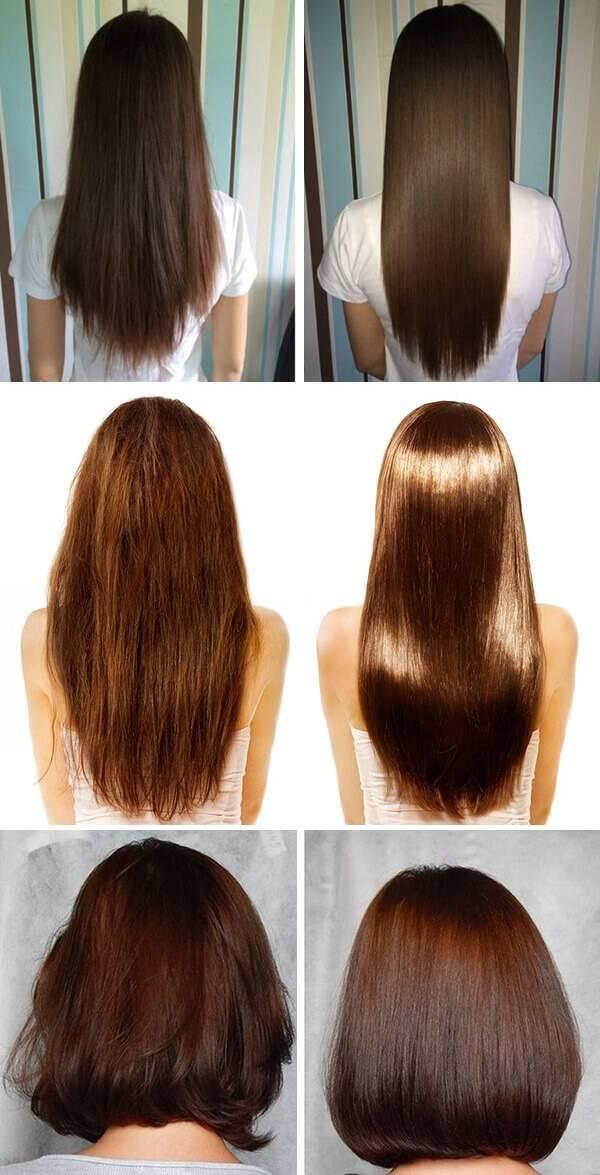 Маски для ламинирования волос, роста и густоты в домашних условиях из желатина с яйцом, бальзамом, горчицей