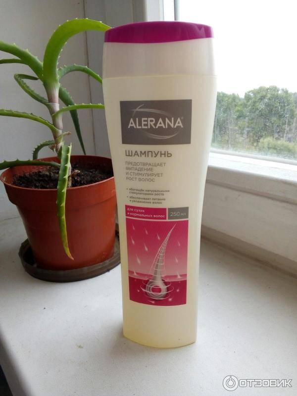 Шампунь для роста волос «алерана»: отзывы, состав, инструкция по применению