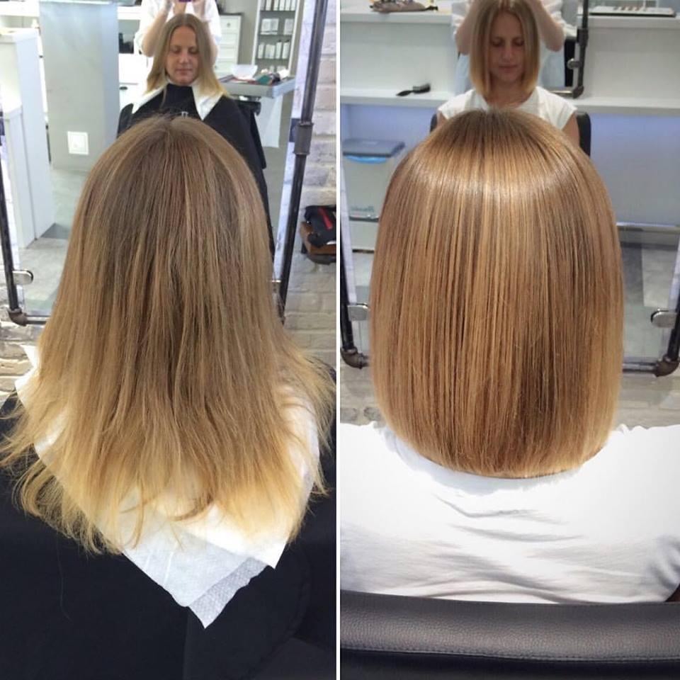 Кому подойдет брондирование на темные волосы? описание техники, фото до и после окрашивания