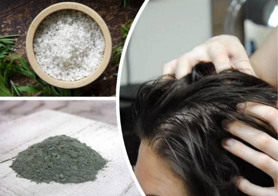 Морская соль для волос: маски от выпадения и роста