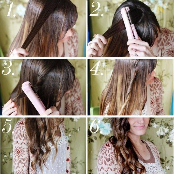Как уложить волнистые волосы за 10 минут, без фена и утюжка?