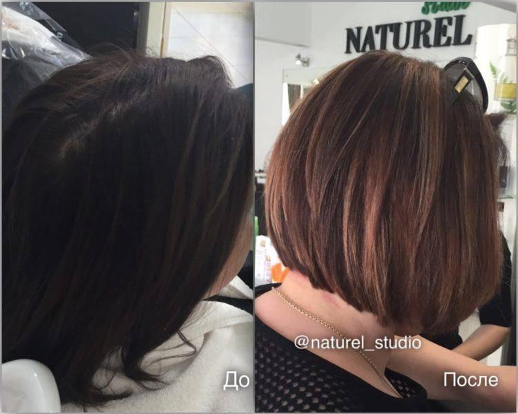 Мелирование на короткие волосы 2020